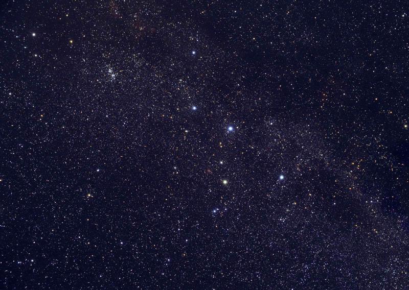 Fenómenos cosmológicos. Cassiopeia